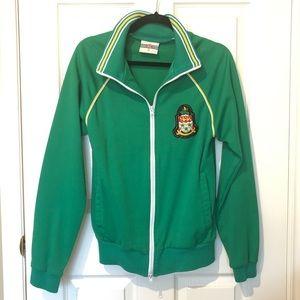 Green Sports Jerseys Zip Up